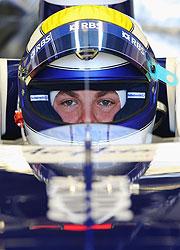 Nico, el mas veloz en los ensayos