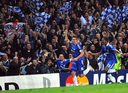 Chelsea celebra!