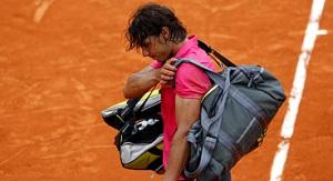 Nadal se despide del Roland Garros