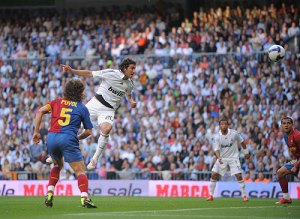 Higuaín anotaba el primero para el Madrid
